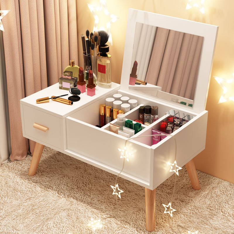 Nordic Window Table Small Tea Table Tatami Simple Windowsill Japanese Low Table Bedroom Furniture Dressing Table With Mirror