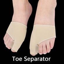 1 пара разделитель носка вальгусная деформация для ног корректор