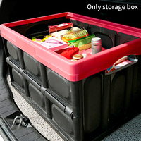 30L Durable Folding Multifunction Handles Home Thickened Storage Box Practical Car Trunk Saving Space Container With Lid