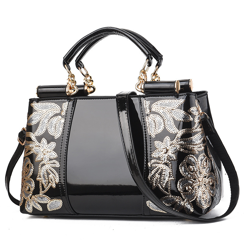 2020 new Embroidery Women Bag Leather Purses and Handbags Luxury Shoulder Bags crossbody bags Female Bag for Women handbag