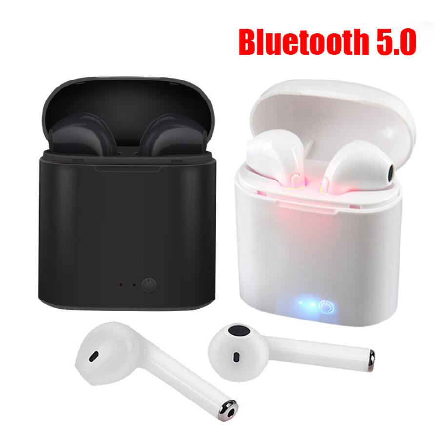 I7s TWS Bluetooth Earphone Earbuds Wireless headphones Sport headphones With Microphone With Charging Box for iPhone Samsung image
