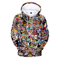 Kids Hoody Boy/girl Hoodie One Piece Sweatshirt Hokage ninja Hoodie Akatsuki Men's Clothes Popular Animation Character