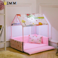 Cat House Detachable Winter Warm Puppy Pet Dog Kennel cats products for pets Top Quality dog bed dog house nest