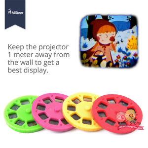 Image 5 - Mideer Mini proyector linterna para niños, juguetes educativos iluminados para niños, desarrolla el juego, cuentos de dormir, juego de actuación, regalo para niños