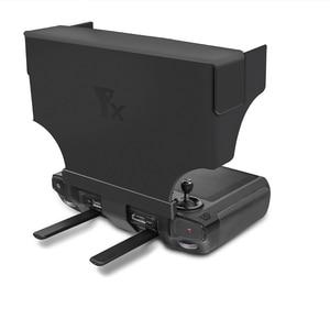 Image 4 - שלט רחוק עם מסך שמש צל נייד מתקפל נגד בוהק עבור שמש הוד dji mavic 2 פרו & זום drone אבזרים