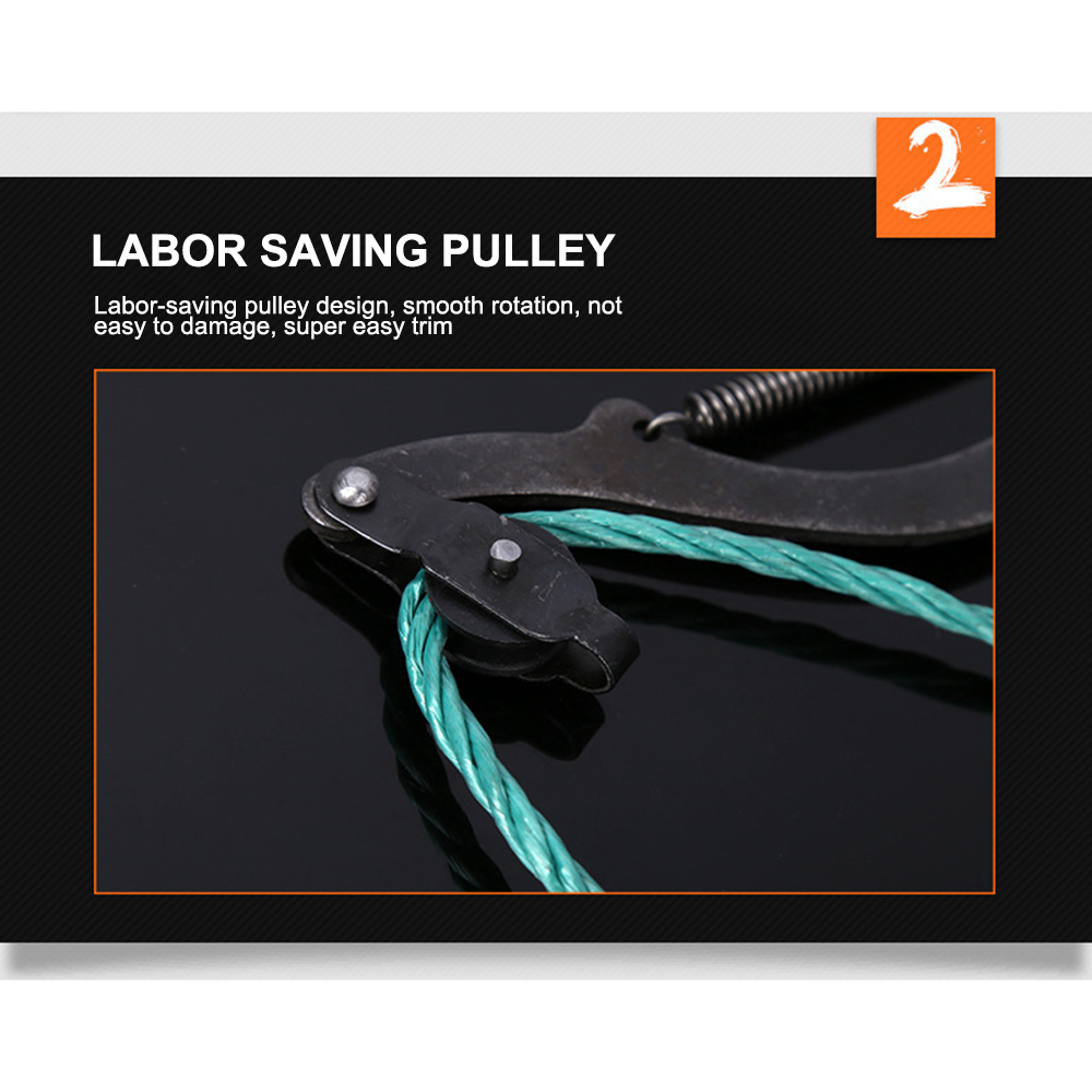 High Branch Pruning Shears With Smooth Rotation And The Trimming Is Easier