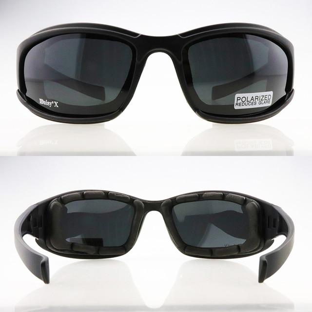 X7 Polarized Photochromic Tactical Military Goggles Eyewear Hiking Eyewear UV400 4