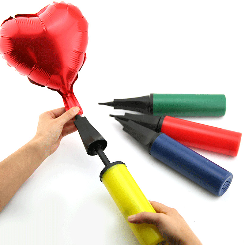 Balloon Air Pump Household Portable Medium-sized Labor-saving Push Two-way Plastic Handheld Air Pump