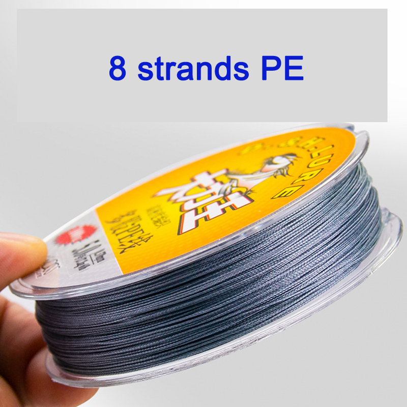 8 Strands100M Super Strong Braided Wire Fishing Line 0.2-10.0 PE Material Multifilament Carp Fishing PE Fishingline