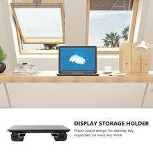 1pc Laptop Elevated Rack Prevent Hunchback Computer Stand Display Storage Holder