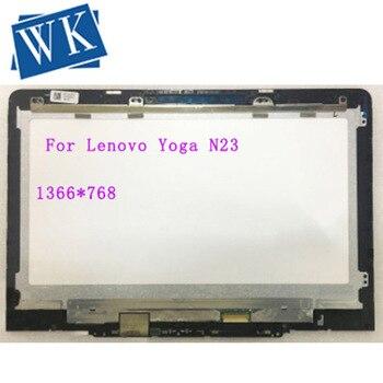 "LCD Touch Screen Assembly+Bezel For Lenovo Chromebook Yoga N23 5D68C09575 11.6"" HD LP116WH8 SPC2 P/N FRU SD18C15101"