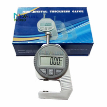 Digital Display Micrometer Thickness Gauge Measurement Tool Electronic Thickness Meter 0.01mm Common Rail Injector Repair Tool