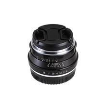 25mm F1.8 Prime Camera Lens Manual Focus MF For Panasonic Olympus MFT M4/3 Mount GH4 GM1 GX8 G7 G9 Camera
