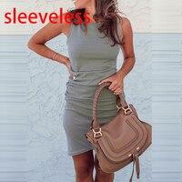 sleeveless gray