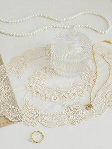 Image 5 - Accessoires de photographie en tissu de dentelle, broderie, Accessoires pour Studio de photographie, bijoux, boissons pour ongles