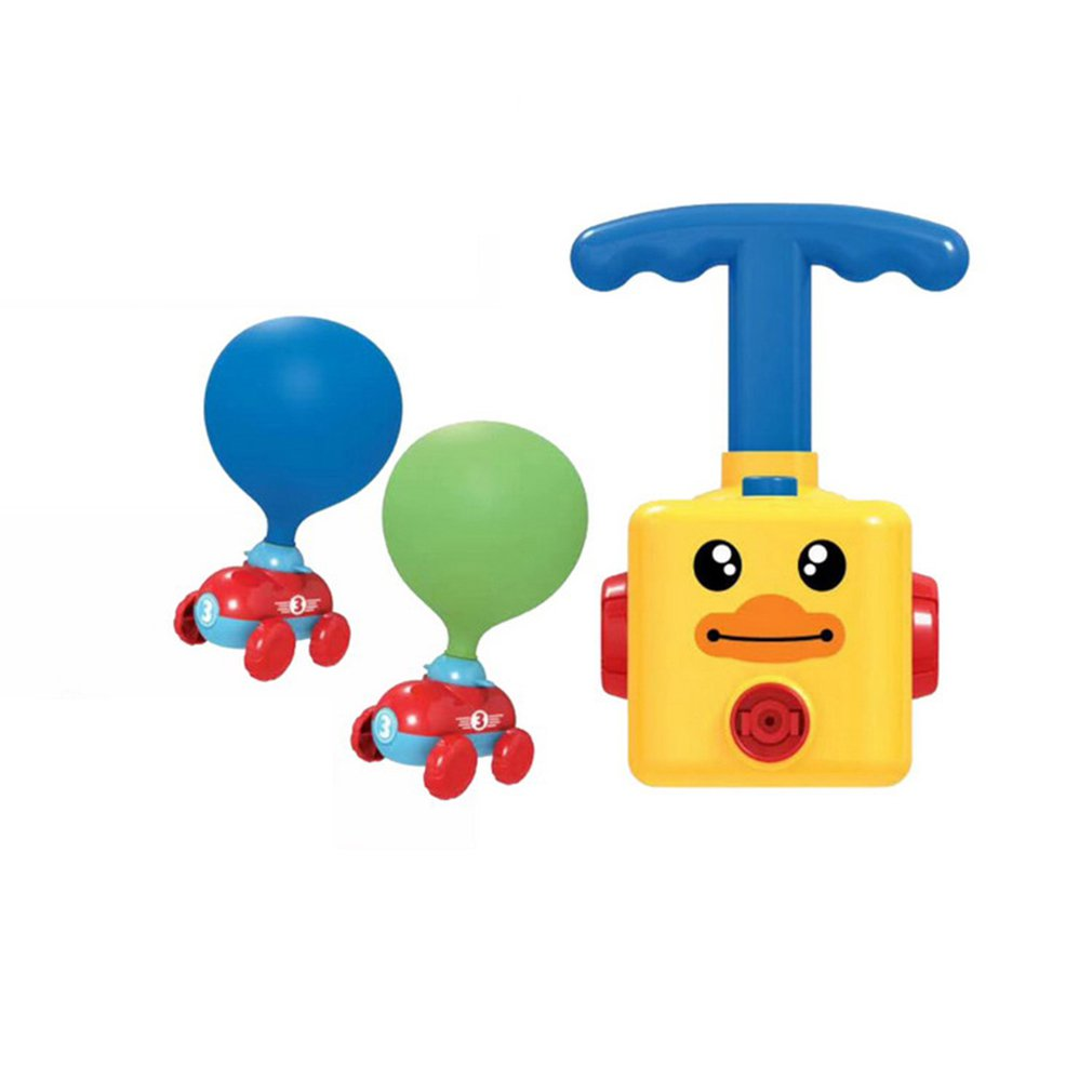 1 Set Power Balloon Car Children's Car Pneumatic Power Car Air Powered Balloon Car Air Powered Car Children's Toy
