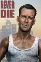 1/6 skala Bruce Willis głowa Sculpt Hurted wersja dla johna Mcclane Die Hard 12 cali mężczyzna figurka
