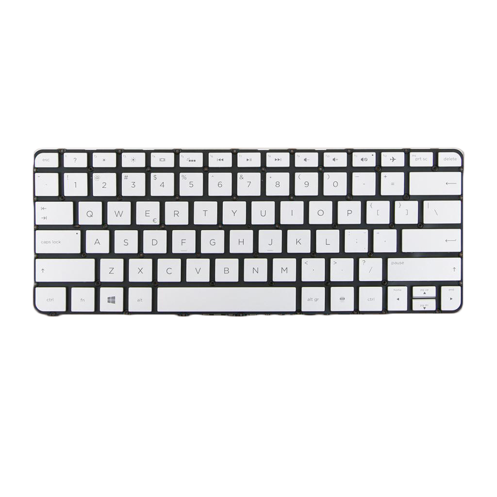 Brand New US Layout Laptop Notebook Keyboard Replacement with Black Frame for HP Spectre X360 13-4000 13-4100 Laptop Keyboard