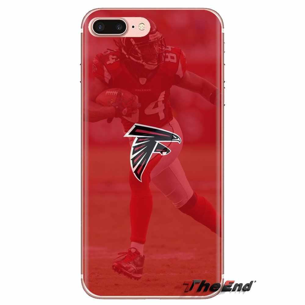 Sacchetto Del Telefono Del Silicone Caso Atlanta Falcons HD Wallpapers 2 Per Xiao mi rosso Mi 4 3 3 s pro MI 3 mi 4 mi 4i mi 4C mi 5 MI 5 s mi max nota 2 3 4