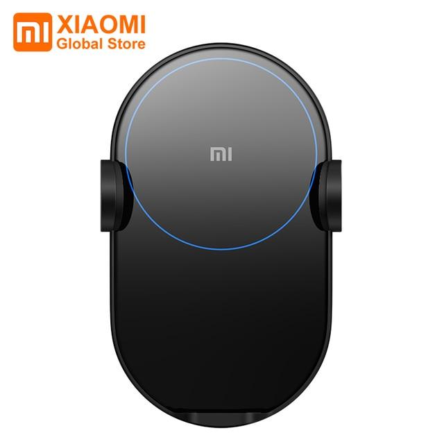 Xiaomi chargeur de voiture sans fil déformation électrique 20W haute vitesse sans fil Flash charge rapide voiture support pour téléphone