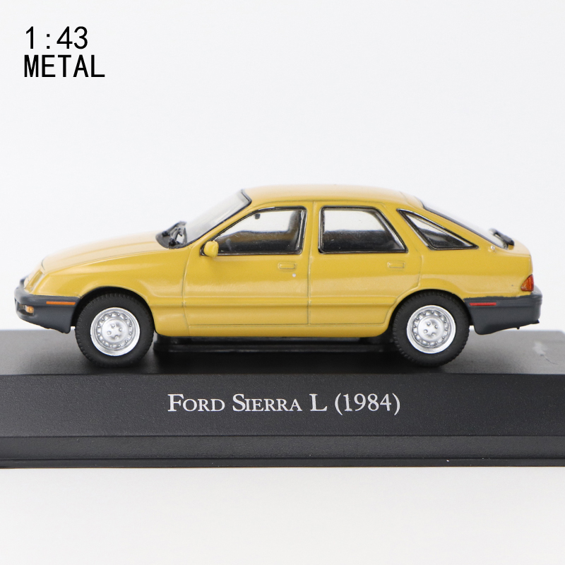 1:43 IXO  FORD SIERRA L (1984) METAL DIECAST   PERFECT SIZE AND WEIGHT