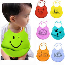 Children Baby Eat Bib Silicone Rice Bowl Waterproof Leak-Proof Feeding Mouth Pocket
