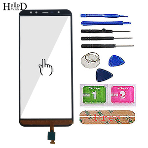 Image 3 - Pantalla táctil móvil de 5,99 para Leagoo Z15 Panel digitalizador de pantalla táctil de vidrio frontal herramientas de pantalla táctil 3M pegamento toallitas