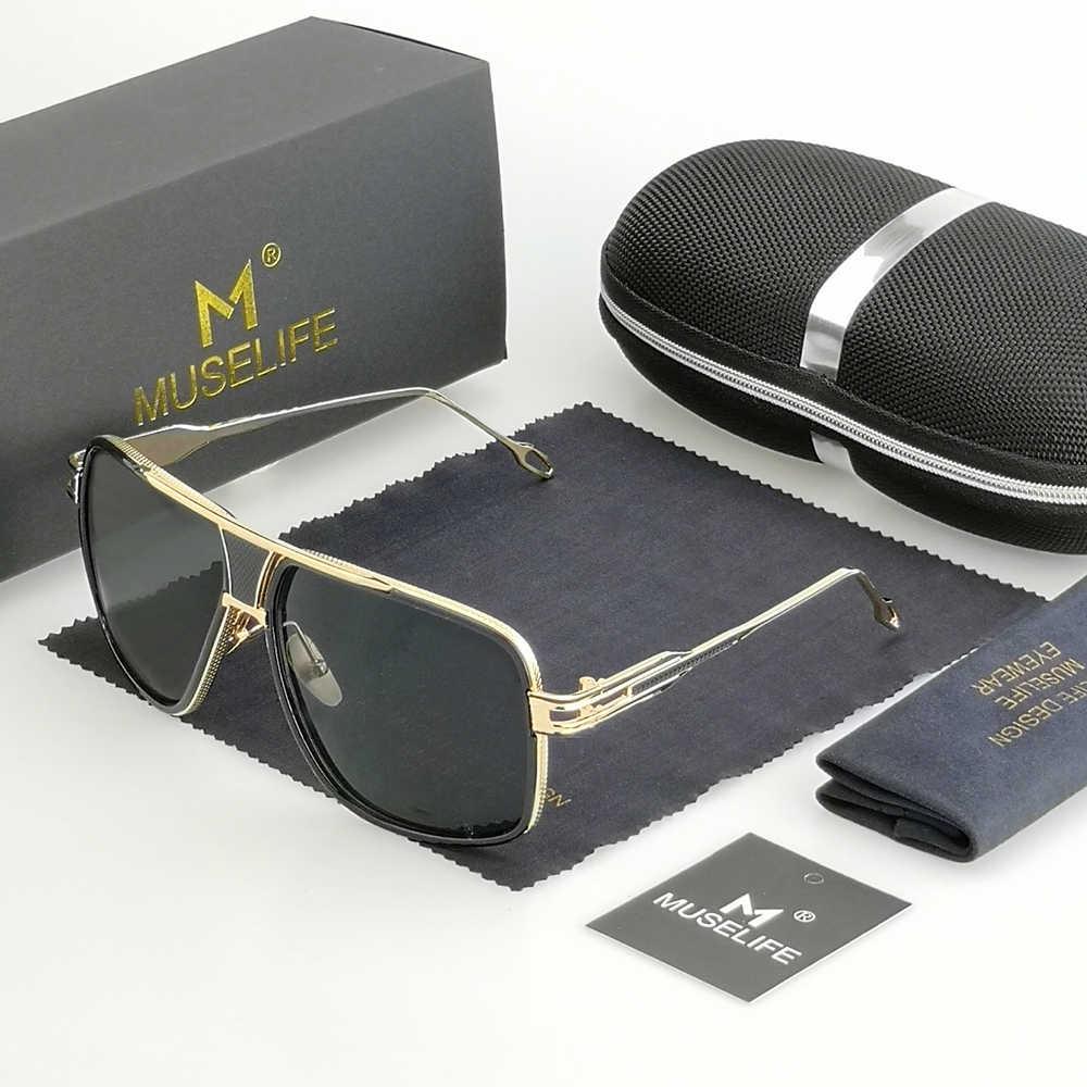 สไตล์ใหม่ 2020 แว่นตากันแดดผู้ชายยี่ห้อDesignerดวงอาทิตย์แว่นตาขับรถOculos De Sol Masculino Grandmasterสแควร์แว่นตากันแดด