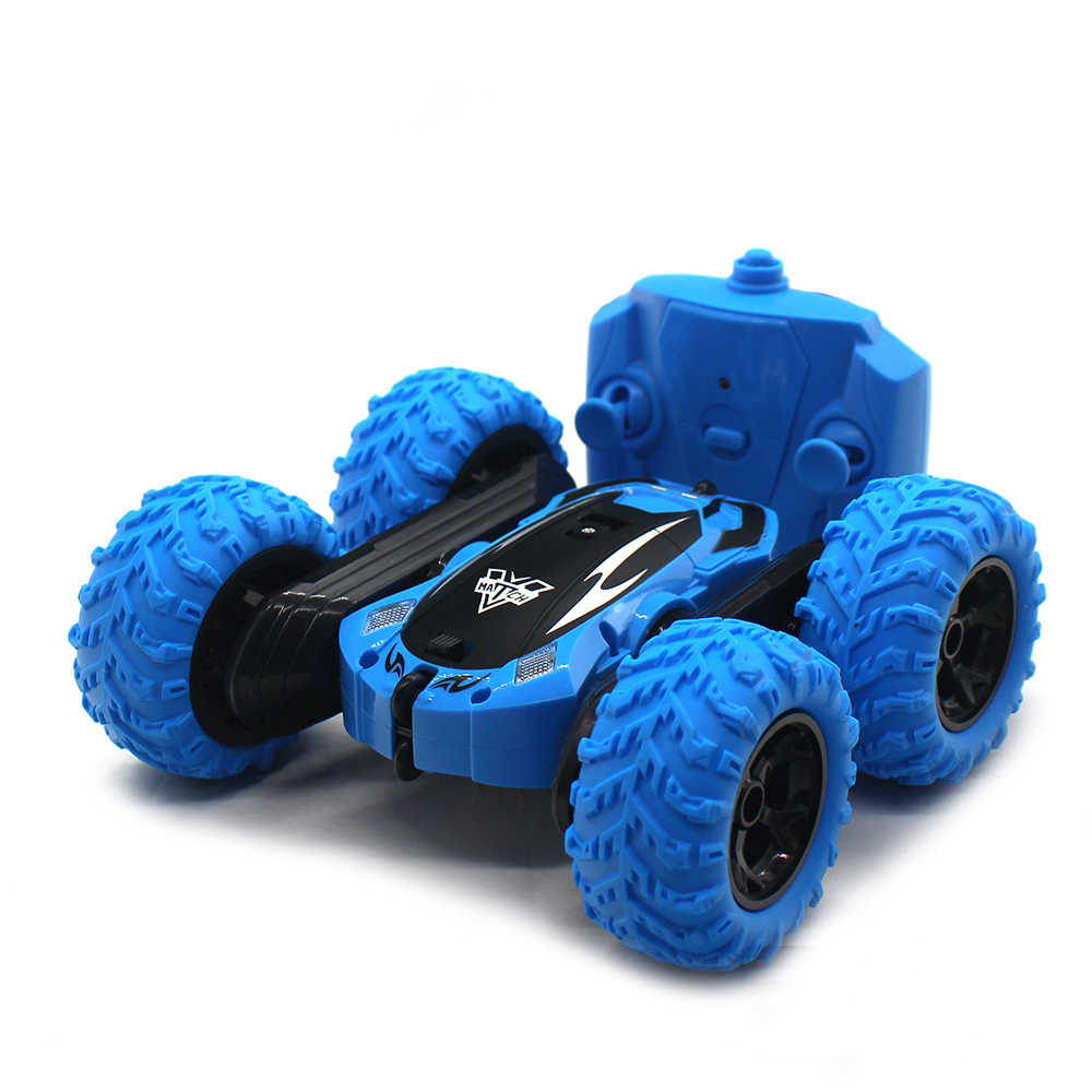 2.4G Hz Mobil Remote Control Mobil RC 4WD Rock Crawler Mainan Remote Control RC Mobil RC Stunt Double Side mobil 3388
