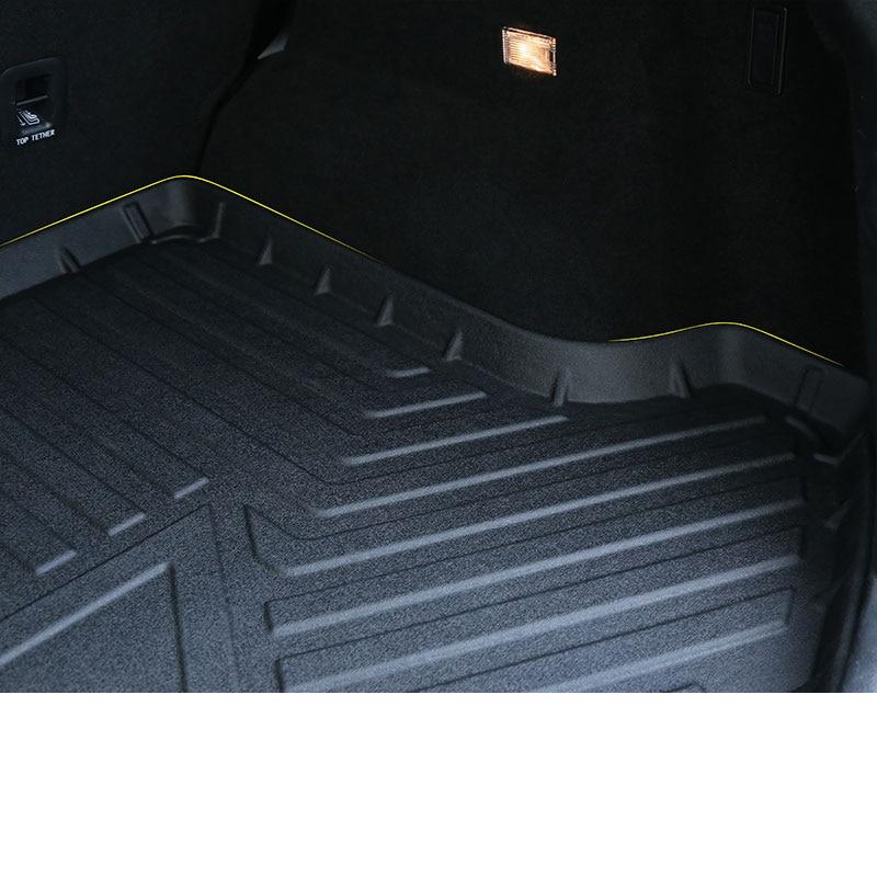 Lsrtw2017 coffre de voiture en cuir Cargo Liner tapis de coffre pour Haval F7 F7x tapis intérieur accessoires autocollant - 3