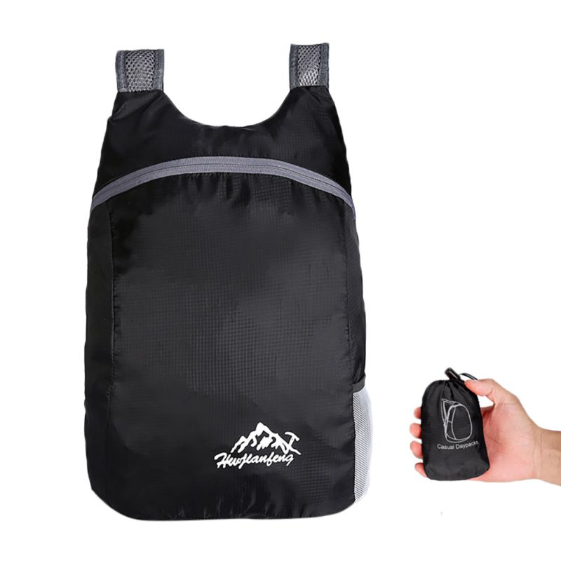 Hot Foldable Bag Outdoor Packable Lightweight Travel Bags Hiking Backpack Daypack For Fishing Travel Hiking Camping Boating Bags