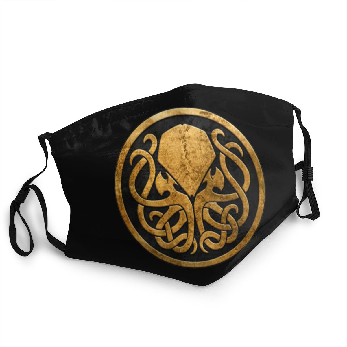 Call Of Cthulhu Lovecraft Reusable Face Mask Anti Bacterial Dust Protection Cover Respirator
