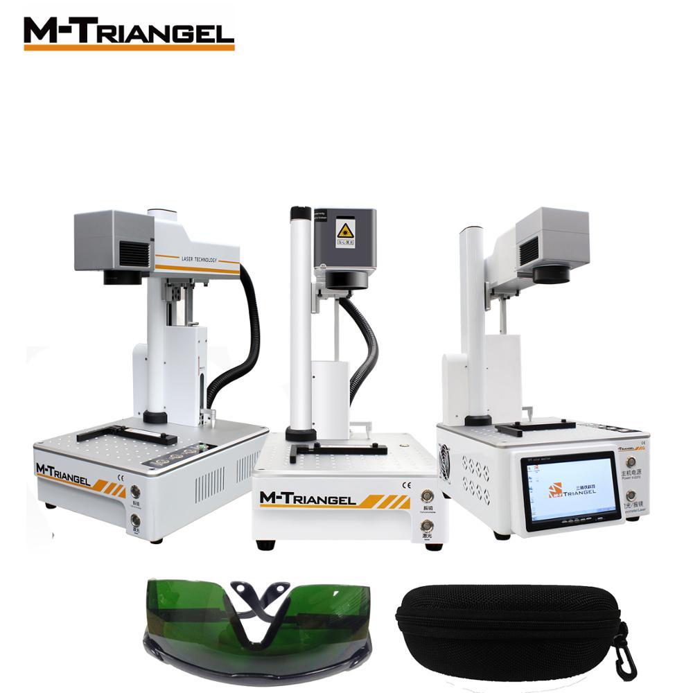 M-triangel laser diy máquinas de corte de gravura separadora lcd para iphone x xs max 8 p 8 11 máquina de separação de vidro traseiro