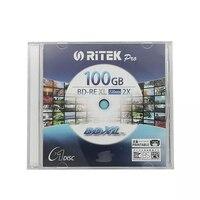 Wholesale 1 pcs 100 gb 2X Printable BD RE XL Discs