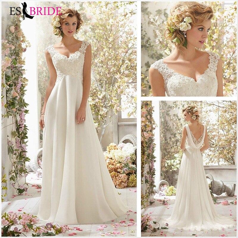 European And American Temperament Lace V-neck Long Wedding Evening Dress