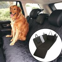 Waterproof Pet Cat Dog Car Rear Back Seat Cover Antislip Protector Mat Auto Travel Blanket Hammock Cushion Protector Car Dog Pad