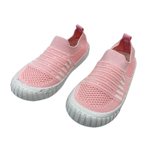 Buy Summer Kids Shoes Mesh Breathable Children Shoes For Girls and Boys Light-weight Casual Sport Shoes Children Knit Sneakers directly from merchant!