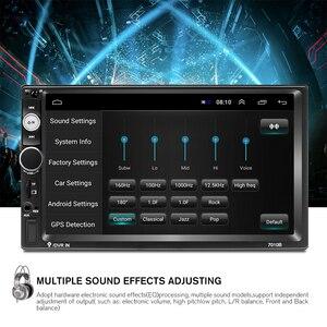 """Image 4 - Podofo Android 2 DIN Phát Thanh Xe Hơi 7 """"MP5 Người Chơi 2 + 32GB Rom Máy Nghe Nhạc Đa Phương Tiện 2DIN Autoradio GPS WIFI Không DVD Âm Thanh FM Stereo"""
