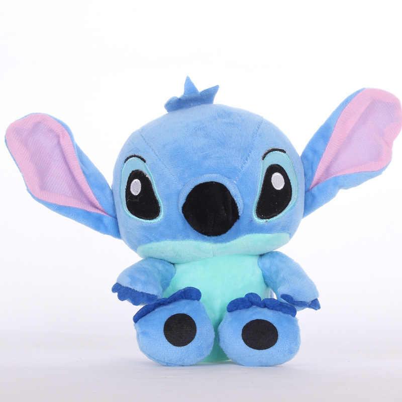 18cm yüksek kaliteli süper sevimli dikiş peluş oyuncaklar bebek güzel dikiş doldurulmuş hayvanlar noel çocuklar için doğum günü hediyeleri