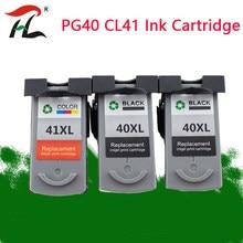 Cartucho de Tinta Compatível para Canon PG 40 CL41 PG40 41 CL PIXMA iP1800 iP1200 iP1900 iP1600 MX300 MX310 MP160 MP140 MP150