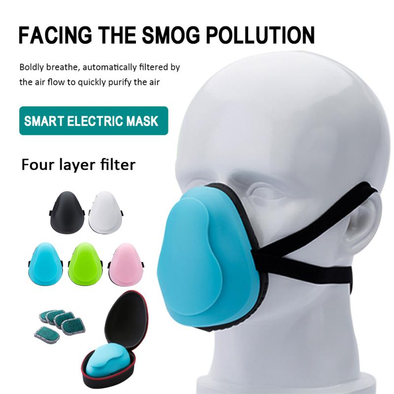Intelligent Electric Mask 99.9% Filters Face Shield Reused Masks Mask Adult