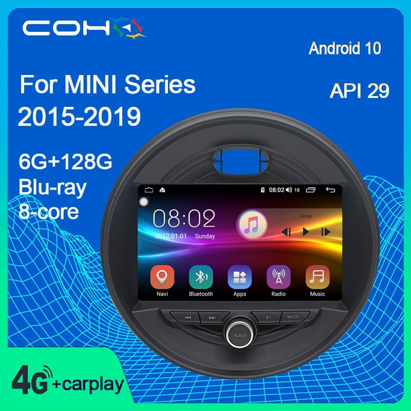 Для BMW MINI Cooper F54 F55 F56 F60 2015-2019 автомобильный Dvd мультимедийный плеер Радио Android 10,0 Octa Core 6 + 128G