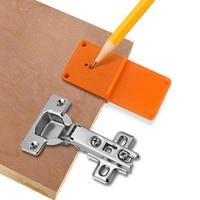 Guía de perforación para carpintería de 35/40mm, localizador de taladro, bisagra, perforadora, guía, broca, agujero, caja de herramientas