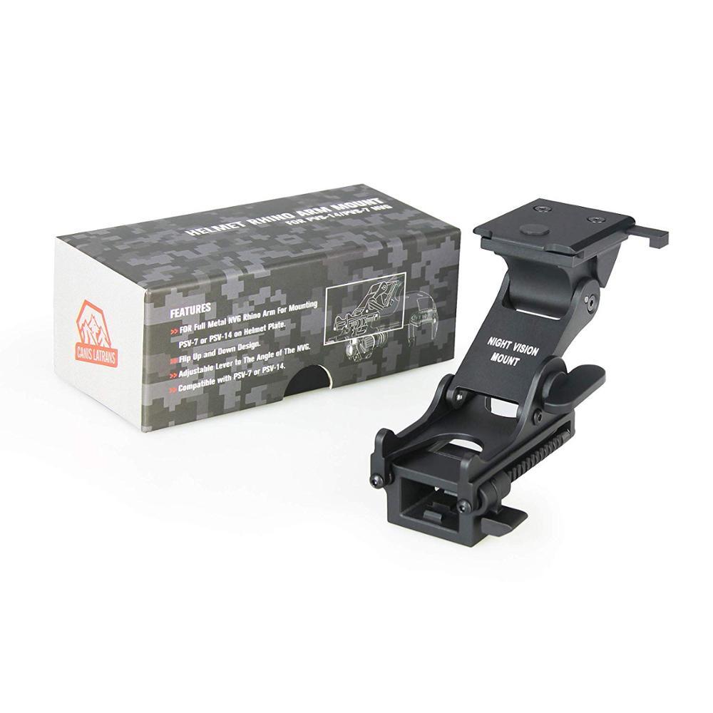 Black Universal Mount Plate Camera//Light Bracket for NVG Helmet Shroud