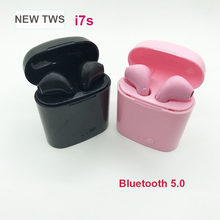 Wireless Headphone Bluetooth Earphone i7S TWS Mini Headset Handsfree Earbuds with Mic for Android Xiaomi Samsung iphone(China)