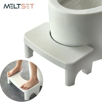Non-Slip Squatty Potty Stool Portable Bathroom Squat Toilet Stools Step Seat Helper Children Assistant Foot Tool - discount item  40% OFF Home Furniture