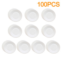 Tableware-Set White-Plate Shower Birthday Disposable for Baby 1-year-old/Birthday/Party-decor/Round