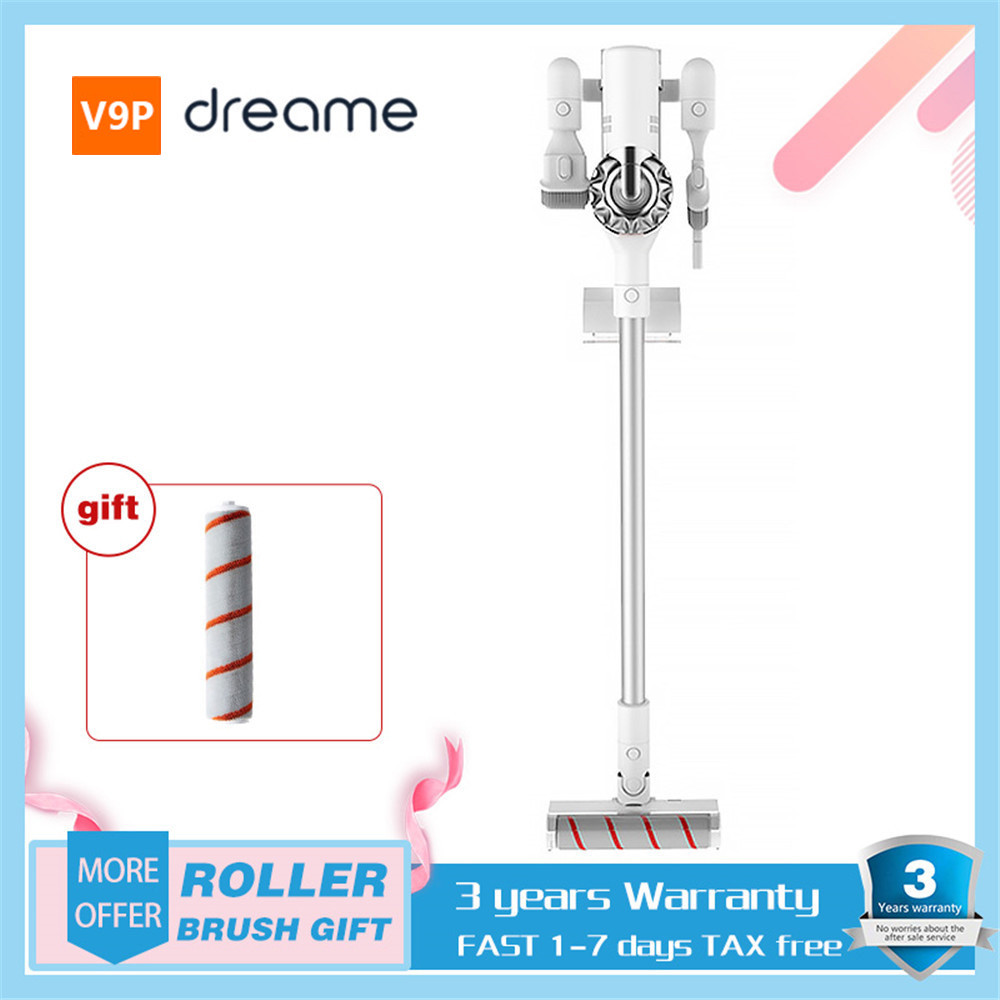 XIAOMI Dream V9 / V9P Vacuum Cleaner Handheld Cordless Vacuum Cleaner 400W 20000Pa Portable Cyclone Filter Carpet Dust Collector(China)