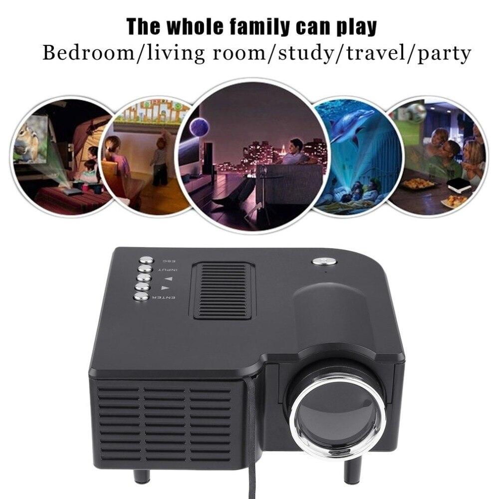Yg300 profissional mini projetor hd1080p cheio de