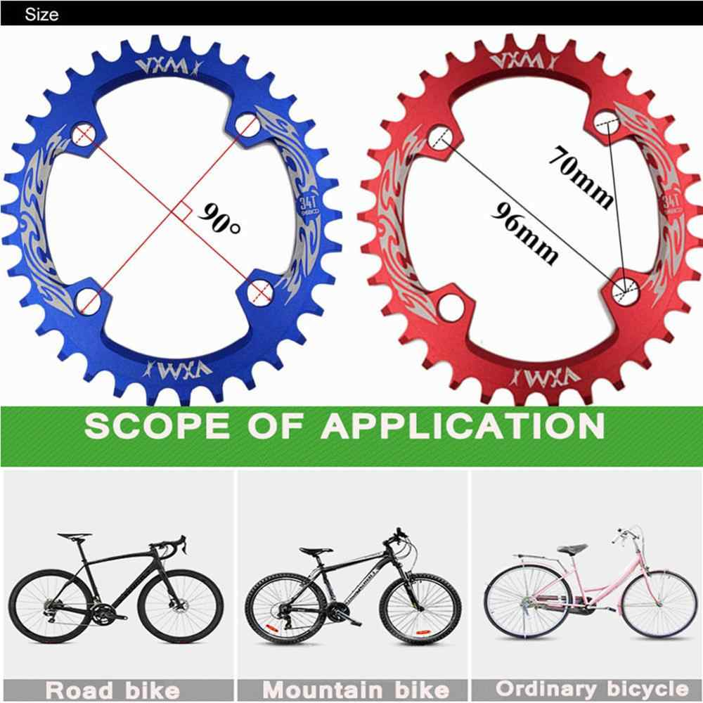 VXM จักรยาน Chainwheel 96BCD 32T 34T 36T 38T MTB จักรยานแคบกว้างห่วงโซ่รูปไข่ Chainwheel จักรยาน crankset แผ่นชิ้นส่วนจักรยาน